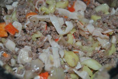 mezclamos muy bien todos los ingredientes para obtener una masa 'pegajosa'