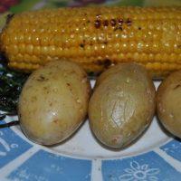 patatas asadas microondas