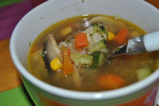 Caldito de verduras