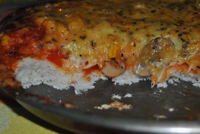 Masa de pizza muuy esponjosa