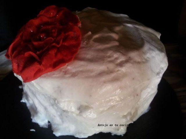 Devil's Food Cake con merengue a la pimienta negra