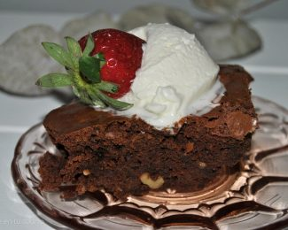 brownie facil paso a paso