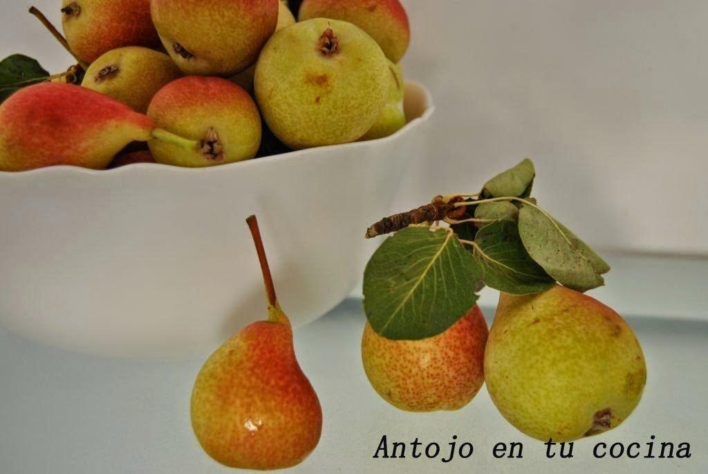 Flan de pera