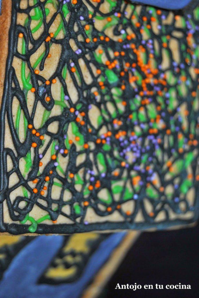 fecto hilos de colores con bolitas