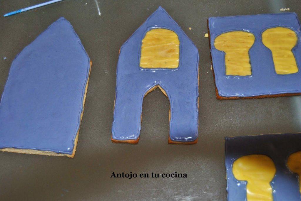 Cómo decorar nuestras galletas con el Glasé Real.