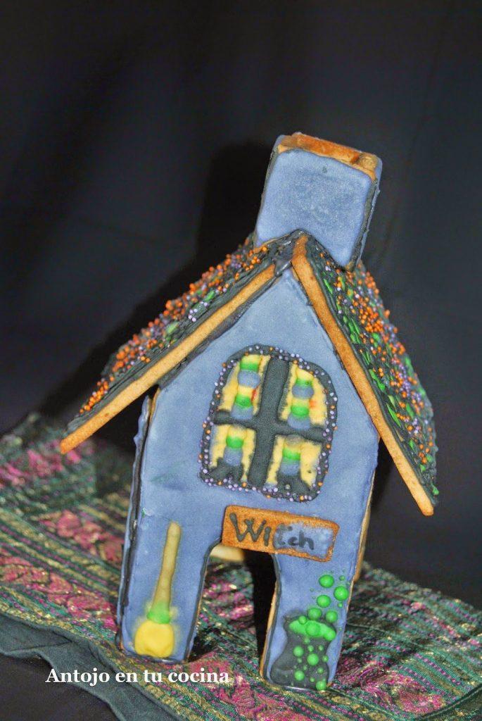 cómo montar una casa de galleta