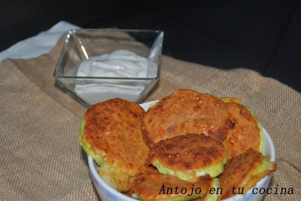 Snacks de calabacín