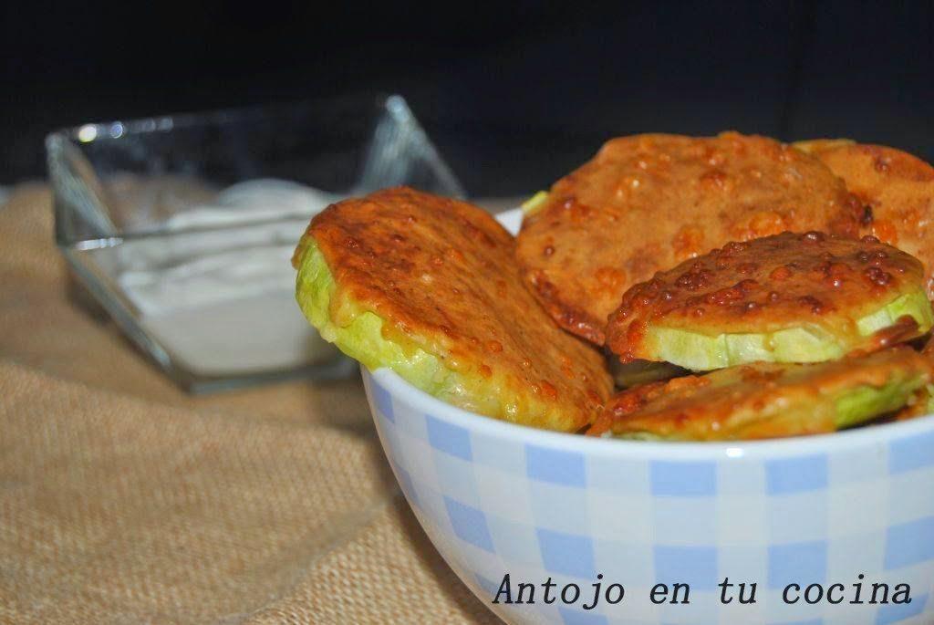 Snacks de calabacín, perfectos para una cena de picoteo
