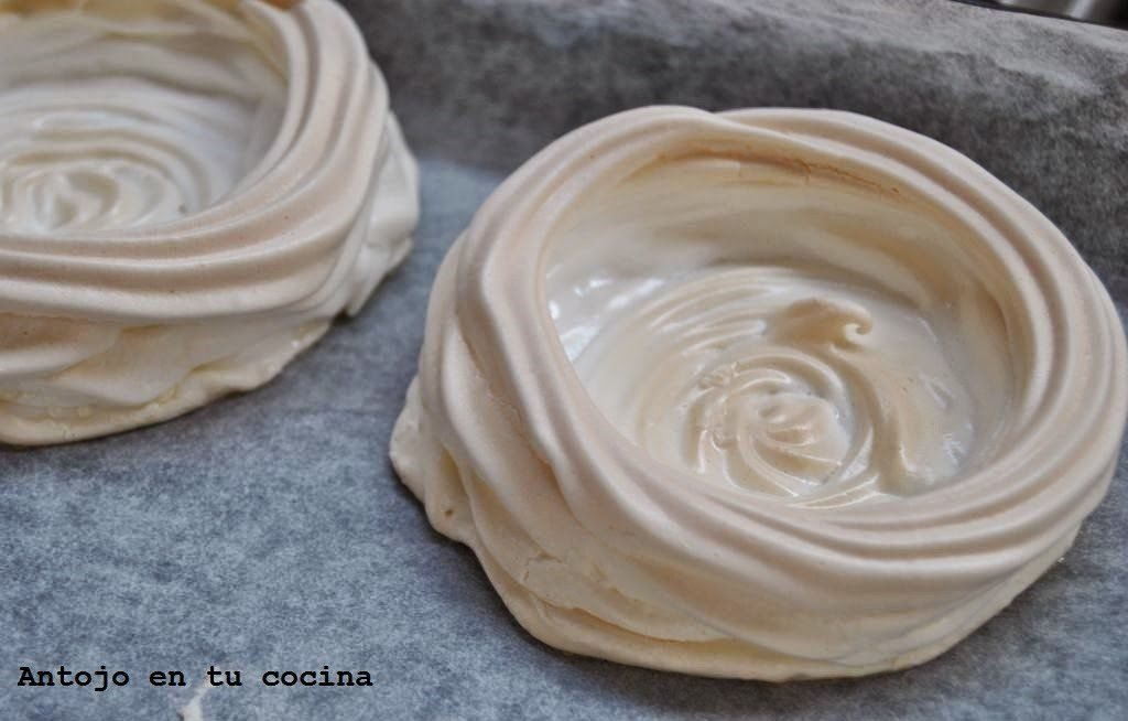 Nidos de merengue