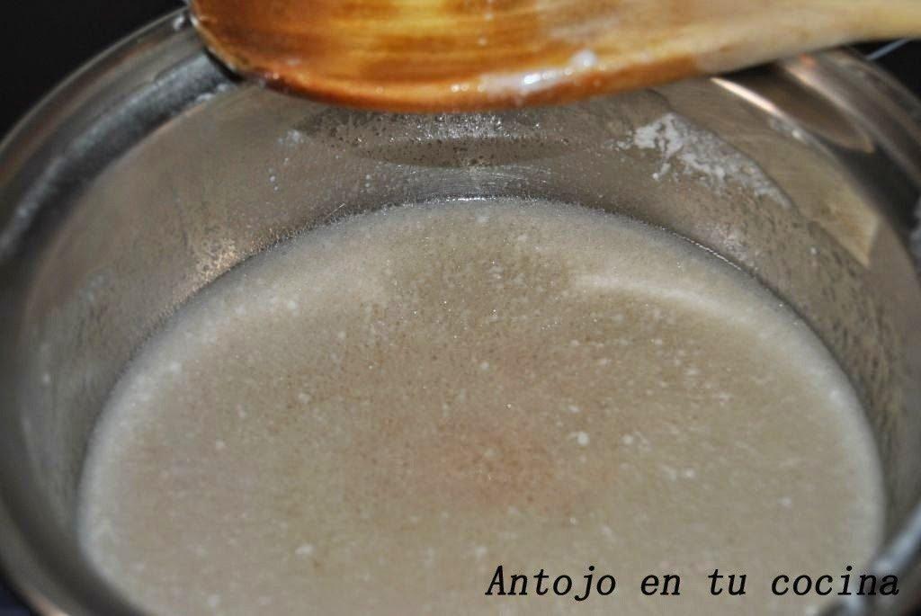 sirope de leche de coco