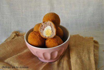 huevos escoceces codorniz