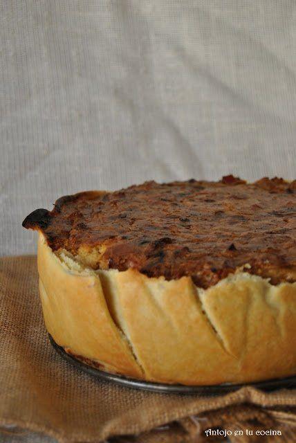 Tarta de coliflor, pavo y mascarpone