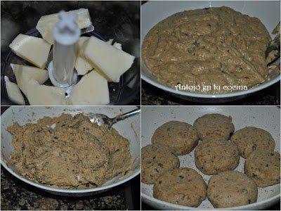 añadimos el huevo batido, y el pan rallado, mezclamos bien e introducimos la masa en la nevera unos 20 minutos para que coja consistencia y podamos darle forma