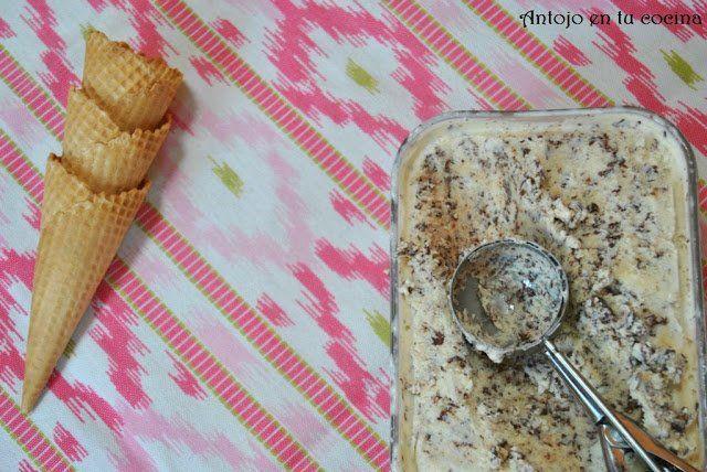 helado de stracciatella: cómo hacer helado en casa