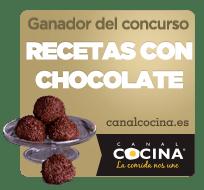 """Ganadora """"Recetas con chocolate"""""""