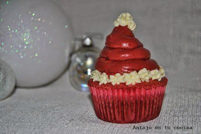 Cupcake papá noel