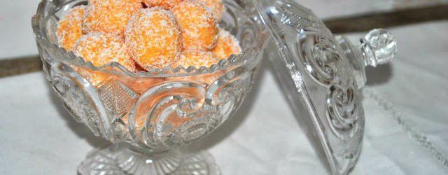 trufas zanahoria y coco