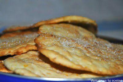 tortas de aceite y ajonjolí {receta con hierbas dulces mallorquinas}