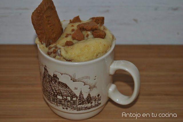 Speculoos & yogurt mug cake