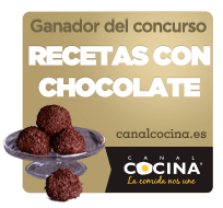 Winner of Chocolat recipes (Canal cocina)