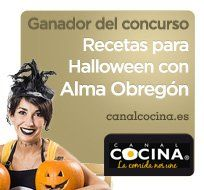 Winner of Halloween recipes (Canal cocina)