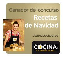 Winner of Christmas recipes (Canal cocina)