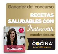Winner of Healthy recipes (Canal cocina)