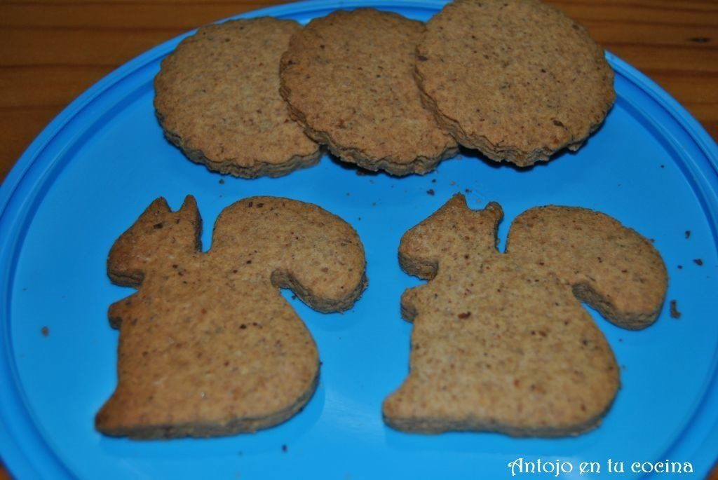 Ginger and cinnamon cookies {gluten free}