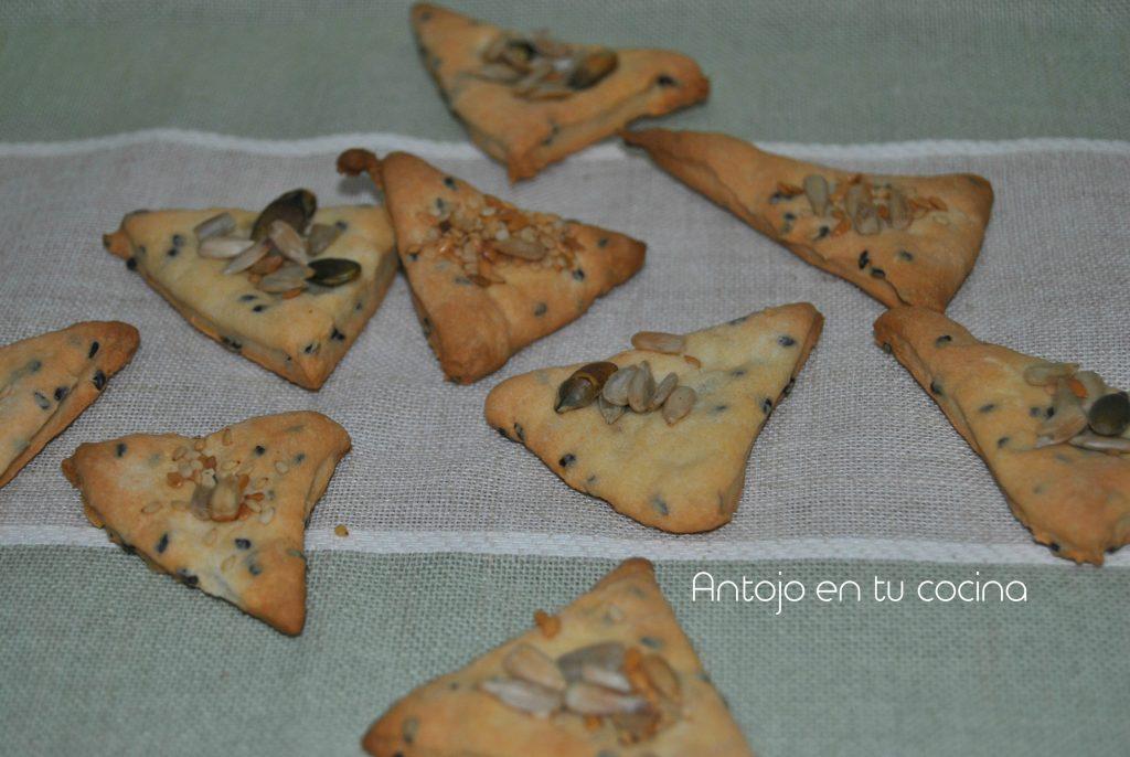 Yogurt and multi-seed crackers