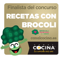 Finalist of Broccoli recipes (Canal cocina)