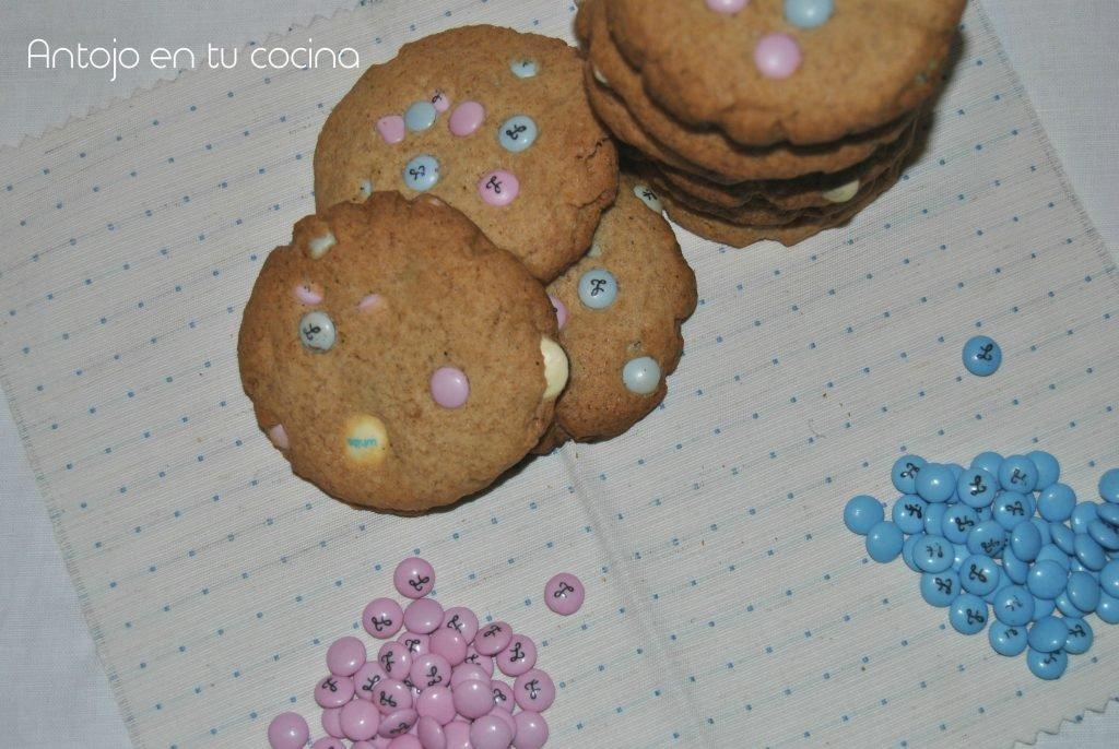 Galletas con lacasitos {sin gluten}