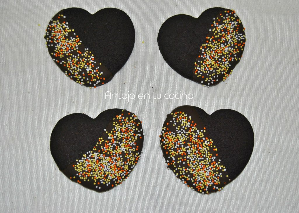 galletas chocolate corazon 13
