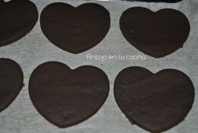 galletas de cacao intenso