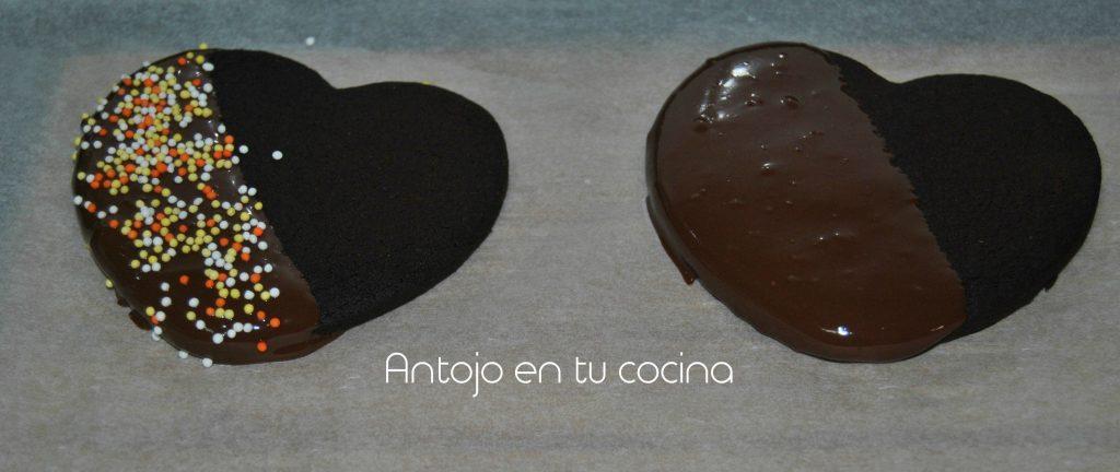 galletas chocolate corazon 4