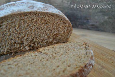Pan de trigo, avena, espelta y cerveza negra {con prefermento}