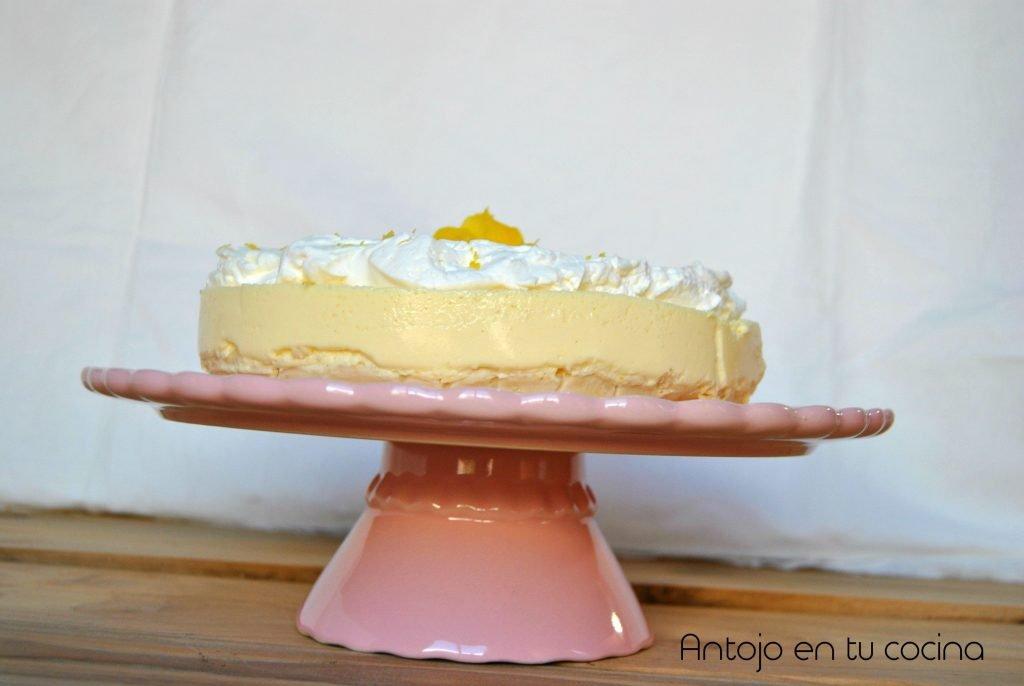 Cheesecake de limón {tarta fría sin horno}