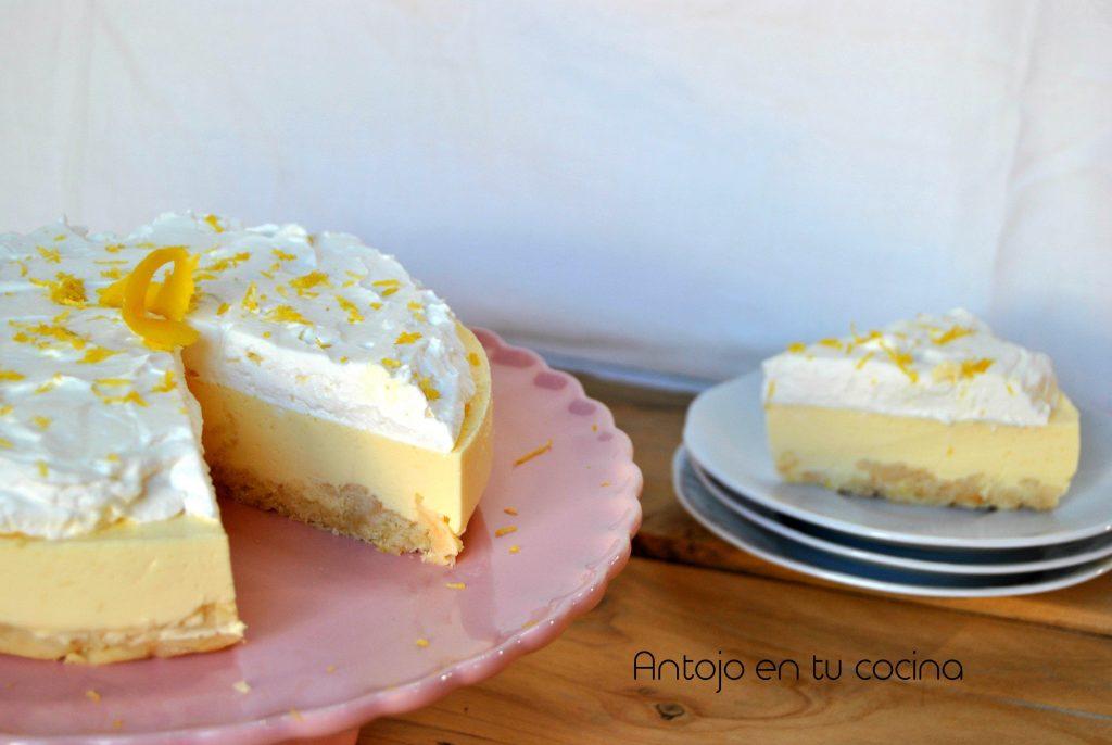 cheesecake de limón sin horno