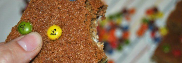 barritas lacasitos y mantequilla cacahuete