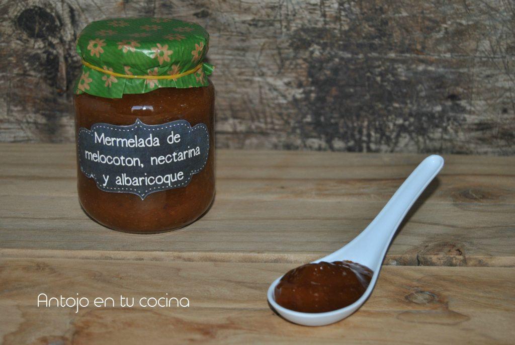 mermelada melocoton nectarina albaricoque