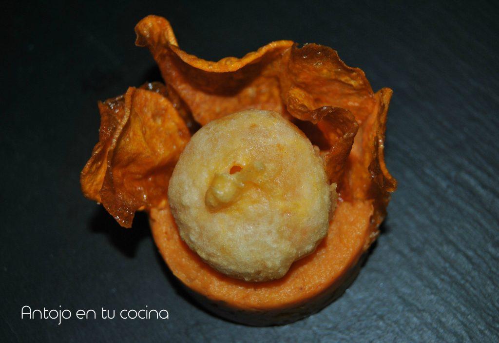 yema tempura boniato texturas