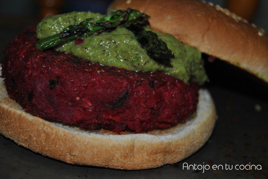 hamburguesas de quinoa con salsa esparragos 15