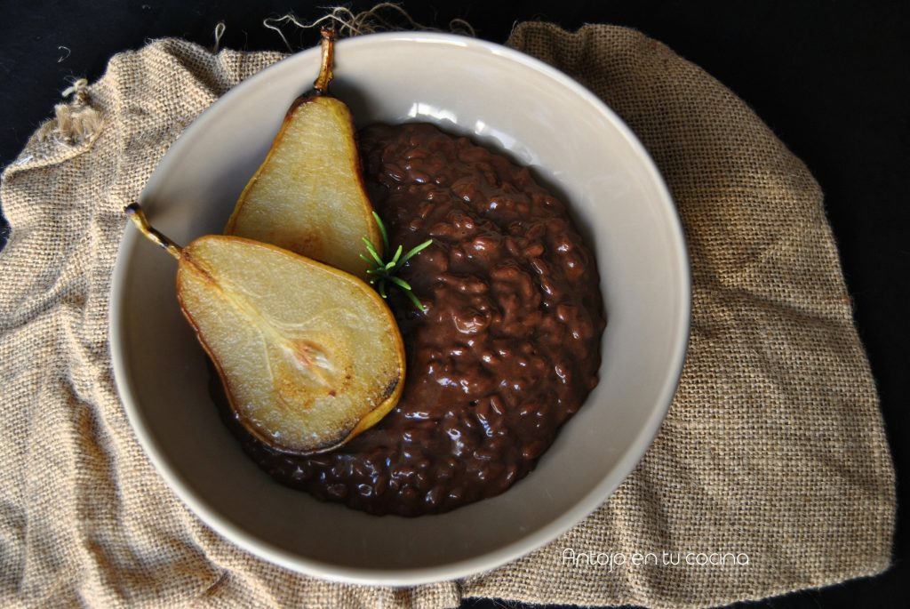 Risotto de chocolate