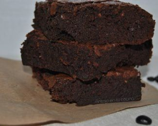 brownie de cafe espresso