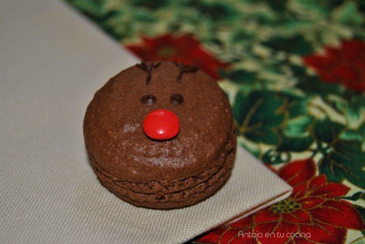 macarons de chocolate y coco