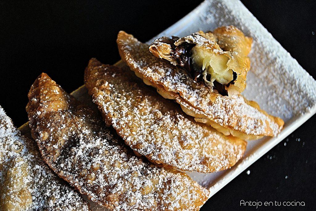 empanadilla platano y chocolate 5