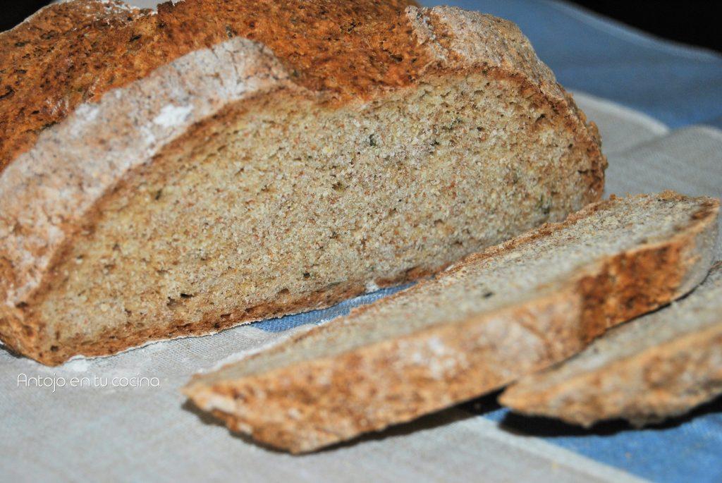Irish soda bread de miel y romero {pan muy fácil en 40 minutos}