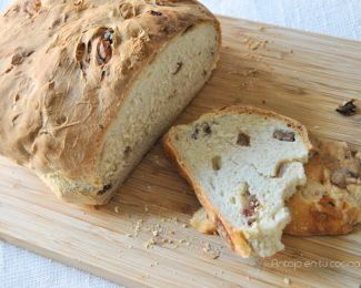 pan blanco de yogur y datiles