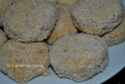 Croquetas de pollo asado sin bechamel