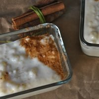 arroz con leche en slow cooker