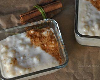Arroz con leche {receta fácil en slow cooker}